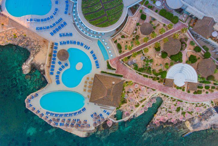 Aerial View - Pools
